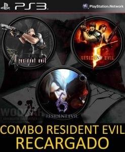 COMBO Resident Evil Recargado