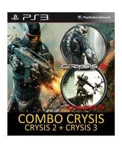Combo Crysis 2 y Crysis 3 (PS3)