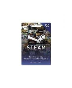 Tarjeta Steam $20