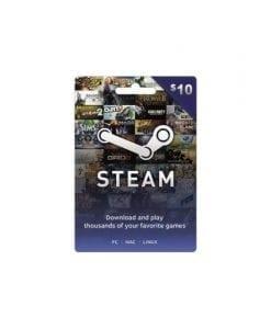 Tarjeta Steam $10