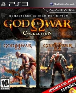 God of War Collection HD (español)